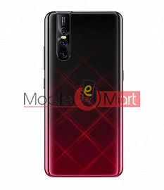Full Body Housing Panel Faceplate For Vivo V15 Pro Red