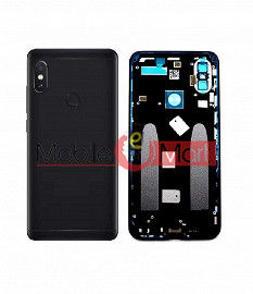 Full Body Housing Panel Faceplate For Xiaomi Mi A2 Black