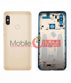 Full Body Housing Panel Faceplate For  Xiaomi Mi A2 Gold