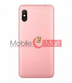 Full Body Housing Panel Faceplate For Redmi Note 6 Pro Rose