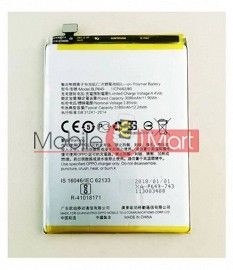 Mobile Battery For Oppo A83 black