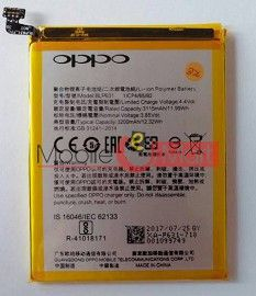 Mobile Battery For Oppo F5 black