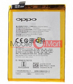 Mobile Battery For OPPO F9 Pro black