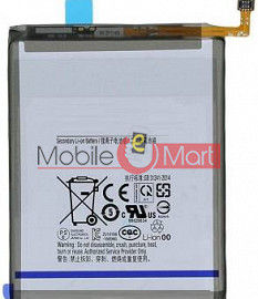 Mobile Battery For Samsung Galaxy A30 black