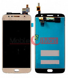 Lcd Display With Touch Screen Digitizer Panel Combo Folder Glass For Motorola Moto G5S Gold Plus