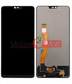 Lcd Display With Touch Screen Digitizer Panel For Oppo F7 With Frame
