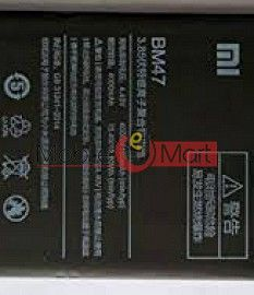 Mobile Battery For Xiaomi Redmi 3s Prime