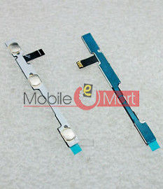 Power On Off Volume Button Key Flex Cable For Lenovo S60