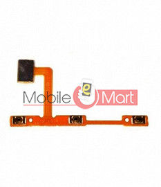 Power On Off Volume Button Key Flex Cable For Vivo V11i