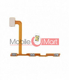 Power On Off Volume Button Key Flex Cable For Vivo X23