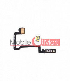 Power On Off Volume Button Key Flex Cable For Oppo A52
