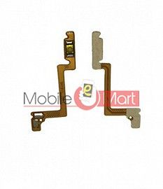 Power On Off Volume Button Key Flex Cable For Oppo A12