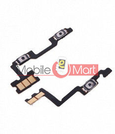 Power On Off Volume Button Key Flex Cable For OnePlus 7