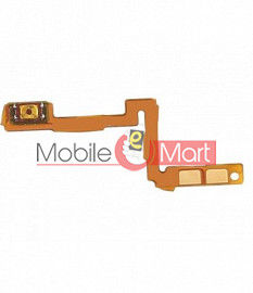 Power On Off Volume Button Key Flex Cable For Oppo R17