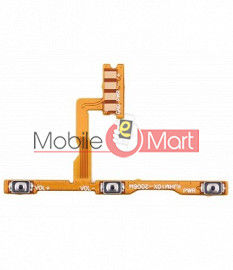 Power On Off Volume Button Key Flex Cable For Xiaomi Redmi 10X 4G