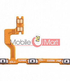 Power On Off Volume Button Key Flex Cable For Xiaomi Redmi 9 Power
