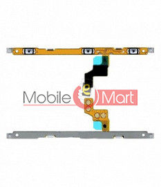 Power On Off Volume Button Key Flex Cable For Samsung Galaxy A70