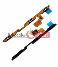 Power On Off Volume Button Key Flex Cable For Samsung Galaxy A10e