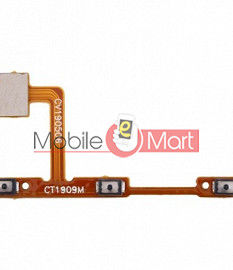 Power On Off Volume Button Key Flex Cable For Vivo V17