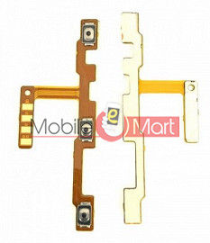 Power On Off Volume Button Key Flex Cable For Vivo V17 Pro