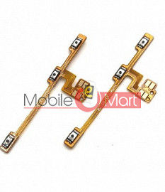Power On Off Volume Button Key Flex Cable For Xiaomi Poco X3