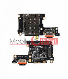 Charging Connector Port Flex Cable For Vivo X27 Pro