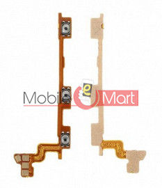Power On Off Volume Button Key Flex Cable For Vivo X60