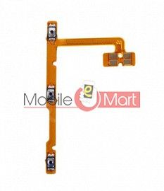 Power On Off Volume Button Key Flex Cable For Realme C12
