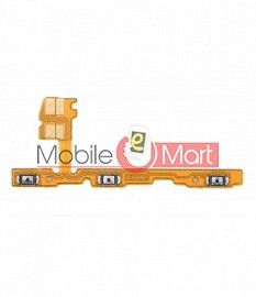 Power On Off Volume Button Key Flex Cable For Huawei Honor View 20