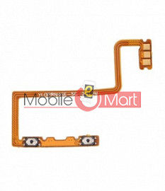 Power On Off Volume Button Key Flex Cable For OPPO Reno 4 SE