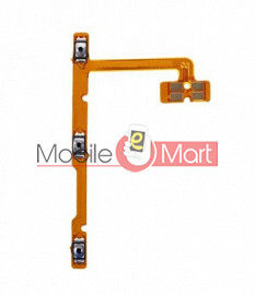 Power On Off Volume Button Key Flex Cable For Realme C15