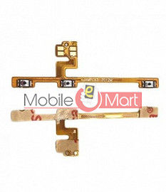 Power On Off Volume Button Key Flex Cable For Xiaomi Poco X3 NFC