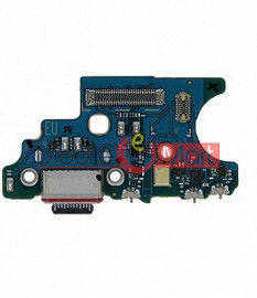 Charging Connector Port Flex Cable For Samsung Galaxy F41