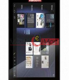 Touch Screen Digitizer For Karbonn Ta-Fone A34 HD Star - Black