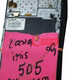 Lcd Display Screen For Lava Iris 505