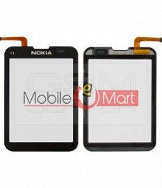 Touch Screen Digitizer Glass For Nokia C3-01