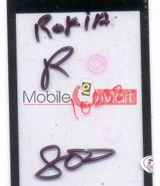Touch Screen Digitizer For Rokea R800