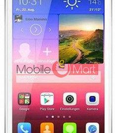 Touch Screen Digitizer For Hi-Tech Amaze S3 - Black