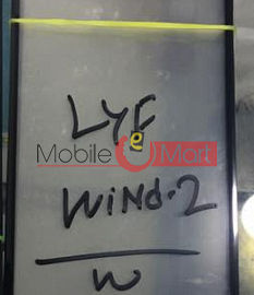 Lyf Wind 2 Touch screen high quality