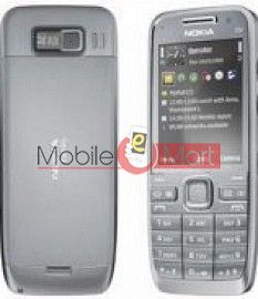 Nokia E52 Original Faceplate Housing (body)(silver)