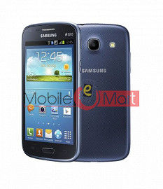 Edge Plus Housing Body Panel For Samsung Core I8262- Blue