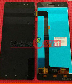 Lcd Display With Touch Screen Digitizer Panel For Buy Lava X50 Plus