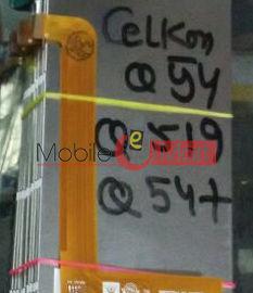 Lcd Display Screen For Celkon Millennia Me Q54