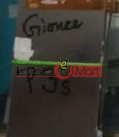 Gionee Pioneer P3S Lcd display