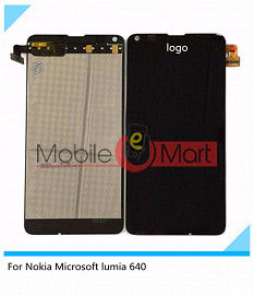 Lcd Display+Touch Screen Digitizer Panel For Microsoft Nokia Lumia 640 Dual Sim