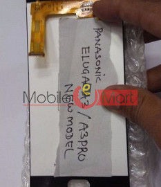 Lcd Display With Touch Screen Digitizer Panel For Panasonic Eluga A3
