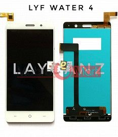 Lcd Display+Touch Screen Digitizer Panel For Lyf Water 4