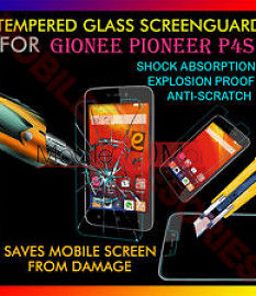 Gionee P4S Tempered Glass Scratch Gaurd Screen Protector Toughened Film