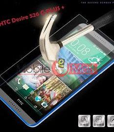 Htc Desire 526G+ Tempered Glass Scratch Gaurd Screen Protector Toughened Film