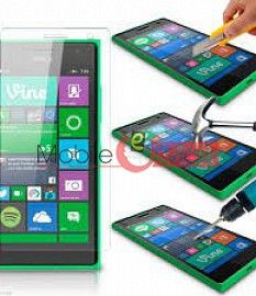 Nokia Lumia 730 Tempered Glass Scratch Gaurd Screen Protector Toughened Protective Film